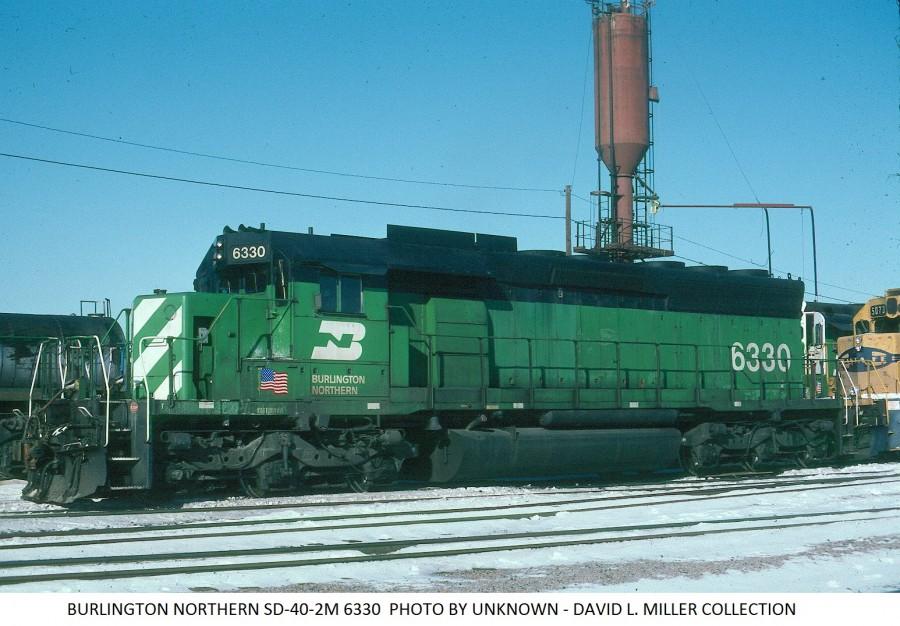 Burlington Northern 6330