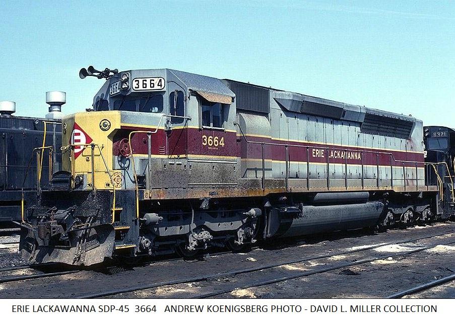 Santa Fe News >> Erie Lackawanna 3664 | Midwestern Model Works