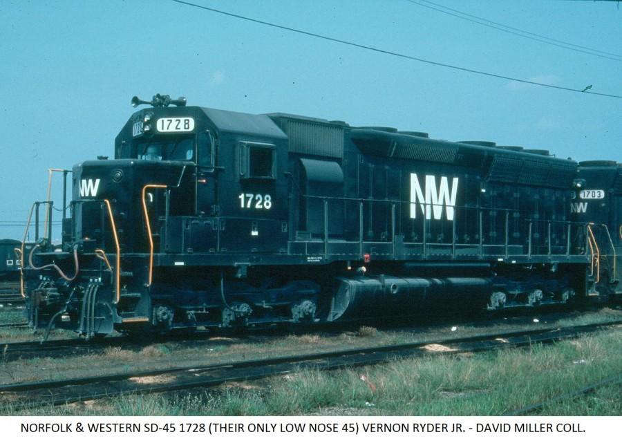 Csx Railroad News >> Norfolk & Western 1728 | Midwestern Model Works