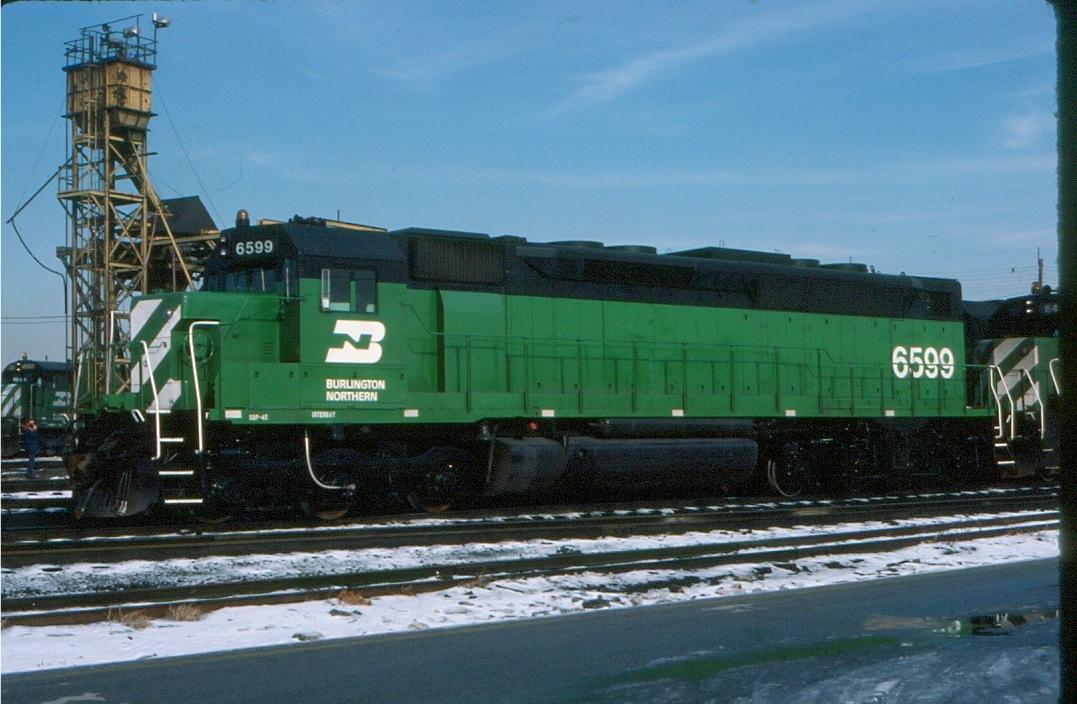 Burlington Northern 6599 Midwestern Model Works