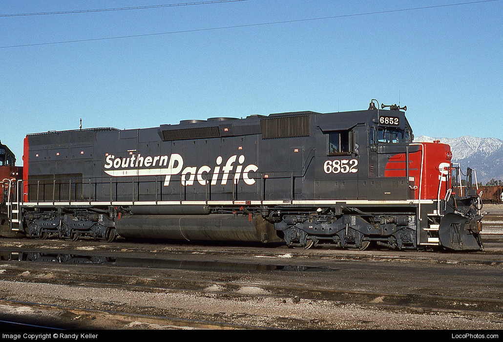 Southern pacific 6852 midwestern model works