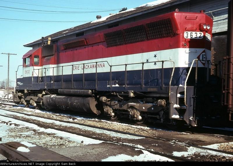 Erie Lackawanna 3632 Midwestern Model Works