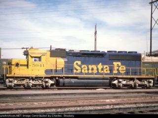 AT&SF 5041